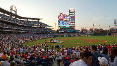 Taney Dragons at The Phillies Panorama