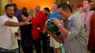 Carlos Ruiz and the Phillies Bowling for Charity-9583-2