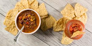 Campbells Organic Tortilla with Garden Fresh Salsa