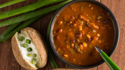 Campbells Slow Kettle Chicken Chili