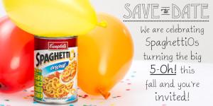 Spaghetti Os 50th Birthday