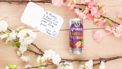 V8 +Energy for Mothers Day