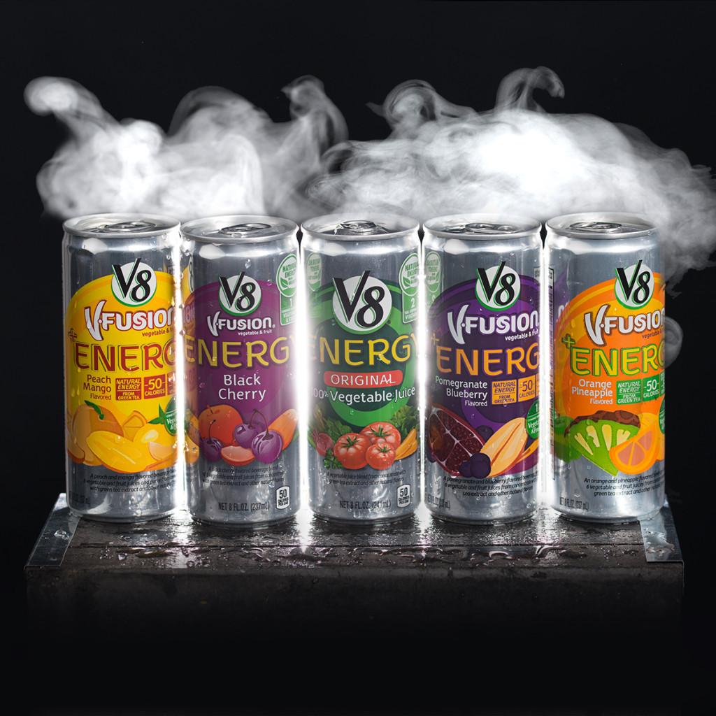 V8 +Energy lineup